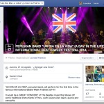 Event created in Facebook about peruvian band Un dia en la vida