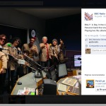 Post about the peruvian band on BBC Radio Merseyside Facebook page
