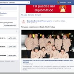 Post about the band in Peruvian Embassy Facebook Page