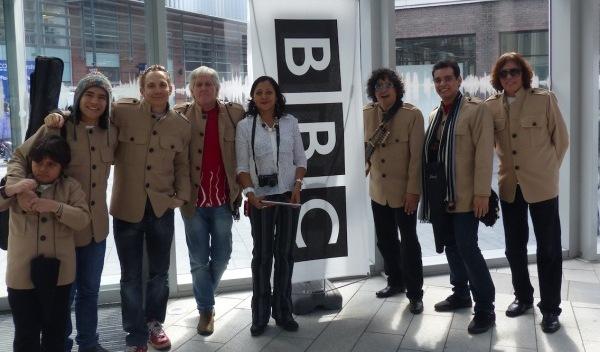peruvian band un dia en la vida on BBC Radio Merseyside