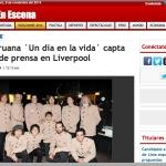 Media coverage in Peru – RPP peruvian band un dia en la vida